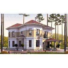 Проект дома 200 м2 Дом-№53