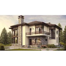 Проект дома 250 м2 Дом-54