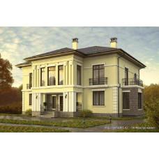 Проект дома 287 м2 Дом-№60