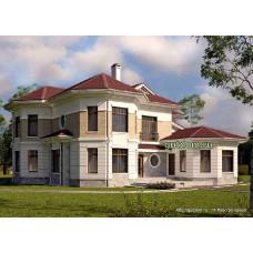 Проект дома с бассейном 272 м2 Дом-№76
