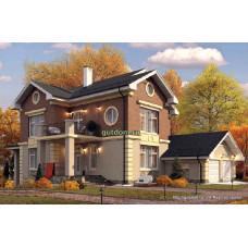 Проект дома с гаражом 300 м2 Дом-№85