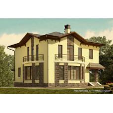 Проект дома 161 м2 Дом-№87