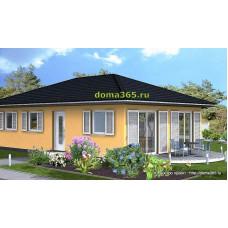 Проект дома 75 м2 ГБЮ-54