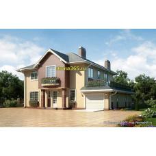 Проект дома 257 м2 ГБЮ-№6