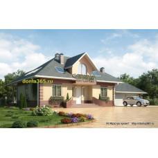 Проект дома 270 м2 ГБЮ-№7