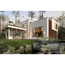 Проект дома 164 м2 ГБЮ-№76