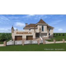 Проект дома 476 м2 ЖЗЛ-№1