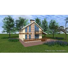 Проект дома 200 м2 ЖЗЛ-№10