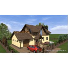 Проект дома 193 м2 ЖЗЛ-№2