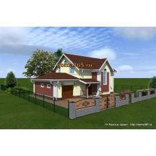 Проект дома 216 м2 ЖЗЛ-№4