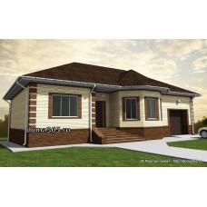 Проект дома 150 м2 ВиК-№41
